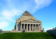 Shrine of Rememberance Stock Photography