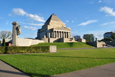 Shrine Of Remembrance Royalty Free Stock Photo