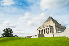 Shrine of Remembrance Royalty Free Stock Photography