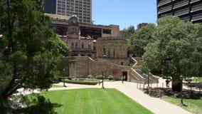 Shrine of Remembrance, ANZAC square, brisbane stock video
