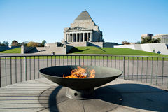 Shrine of Remembrance Stock Photography