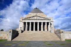 Shrine of Remembrance.Melbourne royalty free stock image