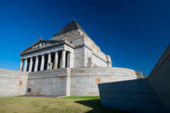 The Shrine of Remembrance - Melbourne, Australia Stock Photo