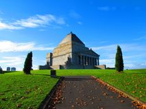 Shrine of Remembrance Melbourne. Australia Royalty Free Stock Photo