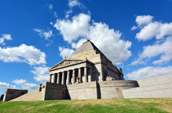 Shrine of Remembrance In Melbourne Australia Royalty Free Stock Photo