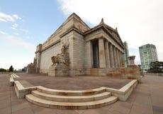 The Shrine of Remembrance in Melbourne, Australia Stock Photo