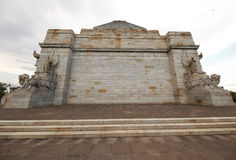 The Shrine of Remembrance in Melbourne, Australia Royalty Free Stock Image