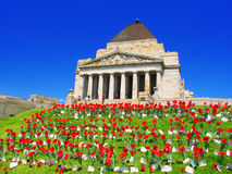 Shrine of Remembrance Melbourne Australia Royalty Free Stock Images
