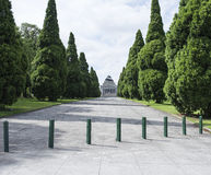 Shrine of Remembrance, Melbourne, Australia. Stock Photos