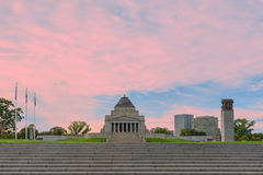 Shrine Of Remembrance, Melbourne, Australia Royalty Free Stock Images