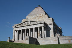 Shrine of Remembrance Royalty Free Stock Photos