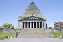 Shrine of Remembrance, Melbourne, Victoria Royalty Free Stock Image