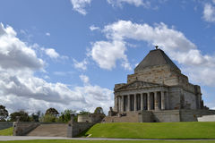 The Shrine of Remembrance Stock Images
