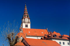 Shrine of Saint Mary of Marija Bistrica in Croatia Royalty Free Stock Image