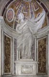 The shrine of Saint Veronica in the Basilica di San Pietro Stock Images
