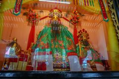 The shrine. To pay homage to the prosperity. Sacred and faithful royalty free stock photo