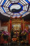 The shrine. To pay homage to the prosperity. Sacred and faithful royalty free stock images