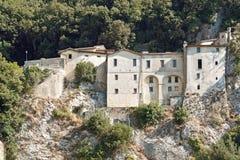 Shrine of st. francis, greccio Stock Images