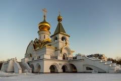 Shrine Of St. Serafim in Khabarovsk Royalty Free Stock Image