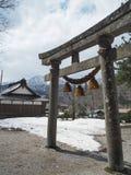 Shrine in takayama city Royalty Free Stock Photo