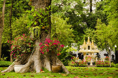 Thai shrine Stock Photography