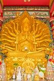 Shrine of Thousand-Hand Quan Yin Bodhisattva Stock Photography