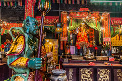 Shrine Tin Hau Temple Tsim Sha Tsui Kowloon Hong Kong Royalty Free Stock Photography