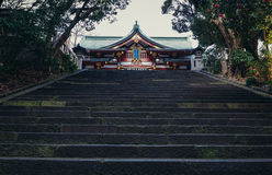 Shrine in Tokyo Stock Photography