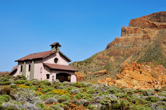 Shrine of Virgen de Las Nieves in Teide Stock Photos