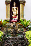 Shrine at the Wat Phrathat temple in Doi Suthep, Chiang Mai, Tha Royalty Free Stock Photos
