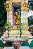 Shrine at the Wat Phrathat temple in Doi Suthep, Chiang Mai, Thailand Stock Images