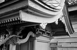 Shrine. Wood aged japan japanese misawa tohoku Royalty Free Stock Photography
