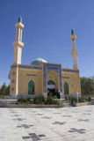 The shrine of Yahya ibn Musa Al Kazim. Picture of Shrine of Yahya ibn Musa Al Kazim in the Iranian city of neishabour, It is based on a mosque with one dome and Royalty Free Stock Photography