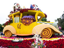 Shriners Hospitals 2011 Rose Bowl Parade Float Stock Image