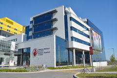 Shriners Hospitals. MONTREAL CANADA 09 14 2016: Shriners Hospitals for Children Canada, located in Montreal-Quebec, provides world-class care to children from Stock Images