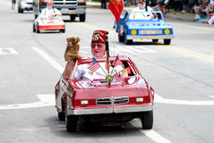 Shriners mini-car Royalty Free Stock Photo