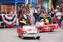 Free Shriners Of Chicago `Windy City Wheelers` Fourth Of July Parade Stock Photography - 123942672