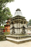 Shrines in Pashupatinath Nepal Royalty Free Stock Photos