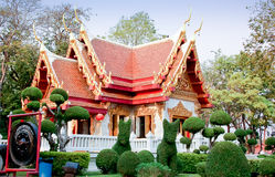 Shrines in Thailand Royalty Free Stock Photo