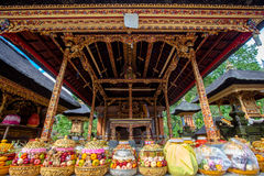 Shrines in Tirta Empul Temple. Bali Royalty Free Stock Image