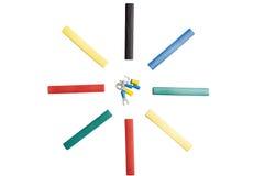Shrink tubes Royalty Free Stock Image