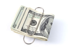 Shrinking Dollar. In today's economy Royalty Free Stock Images