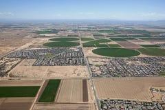 Shrinking Farmland royalty free stock photo