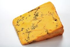Shropshire blue cheese Royalty Free Stock Image