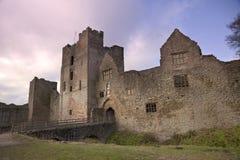 Shropshire castle Stock Photography