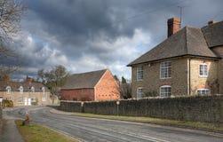 Shropshire-Dorf Stockbilder