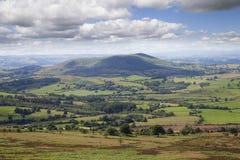 Shropshire farmland, England Stock Photography