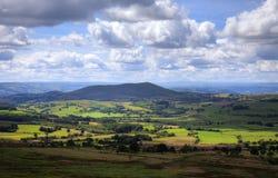 Shropshire farmland, England Stock Images