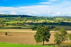 Shropshire-Hügel Lizenzfreie Stockbilder