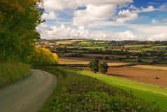 Shropshire Hills (Hughley) Stock Image